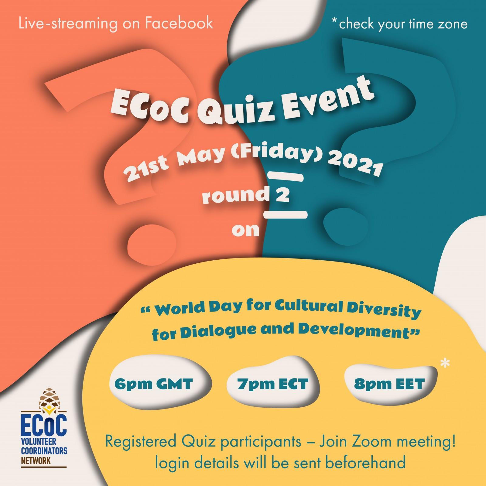 ECoC International Voluntary Quiz